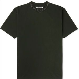 Acne Studios Navid T-Shirt Hunter Green Pine